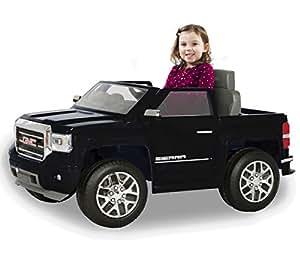 Amazon Com Rollplay 6 Volt Gmc Sierra Truck Ride On Toy