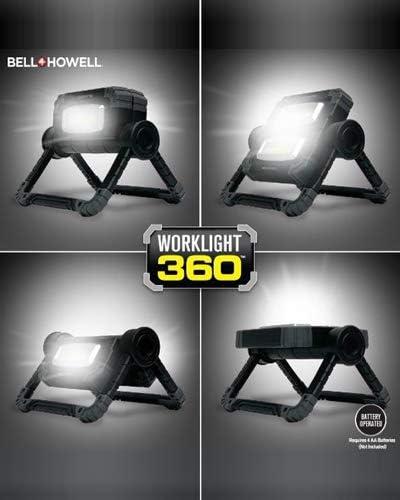Howell 360 Cordless Multi-Purpose Work Light Bell