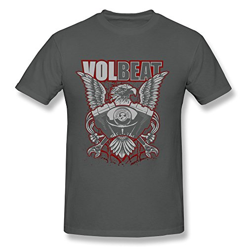 Anskan-Mens-Volbeat-Band-Logo-T-shirt-DeepHeather