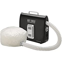 Hot Tools Professional 800 Watt Ionic Soft Bonnet Hair Dryer, Black & White