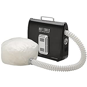 Hot Tools Professional 800 Watt Ionic Soft Bonnet Hair Dryer, Black & White