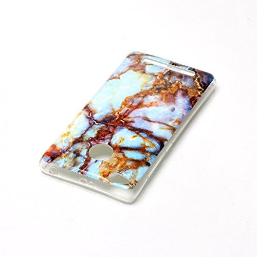 """iPhone 6 6S 4.7"""" Cover TPU , ZXLZKQ Transparent Housse Case Naturel Marbre Motif Etui Bumper Coque TPU Slim pour Apple iPhone 6 6S 4.7"""" Mode Flexible Souple Soft Case Couverture Protection Silicone Co"""