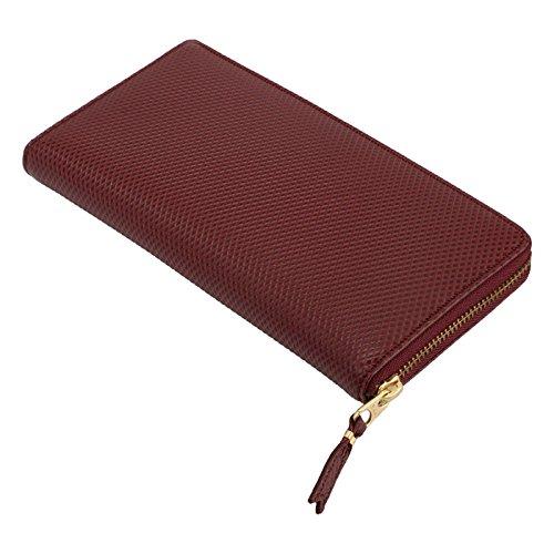 【コムデギャルソン】 COMME des GARCONS SA0110LG-BURGUNDY Luxury Leather Line 長財布 ラウンドファスナー ウォレット レザー 【並行輸入品】 B0777LFFZ1