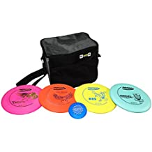 Innova Beginner's Disc Golf Set with 4 Innova Discs and Innova Starter Disc Golf Bag