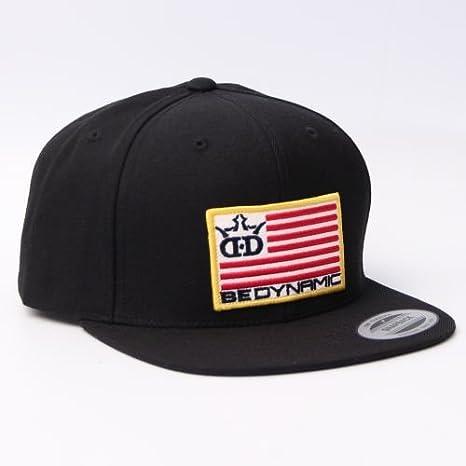 9f00610f3a8 Amazon.com   Dynamic Discs Flag Patch Snapback Disc Golf Hat - Black ...