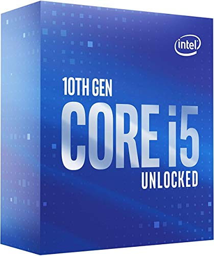 Intel Core i5-10600K 4.1GHz Comet Lake 12MB Desktop Processor Boxed