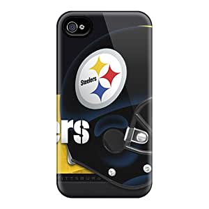 Top Quality Rugged Pittsburgh Steelers Case Cover For Iphone 4/4s
