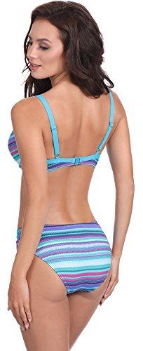 Feba Push Up Bikini conjunto para mujer CarlaVerso Patrón-403
