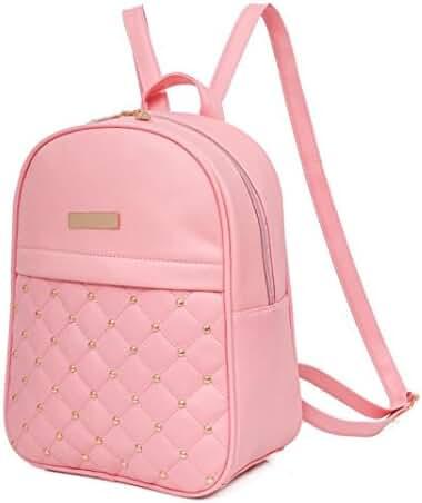 Teen Girl Backpacks,Hemlock Women College School Bag Shoulder Backpacks (Pink)