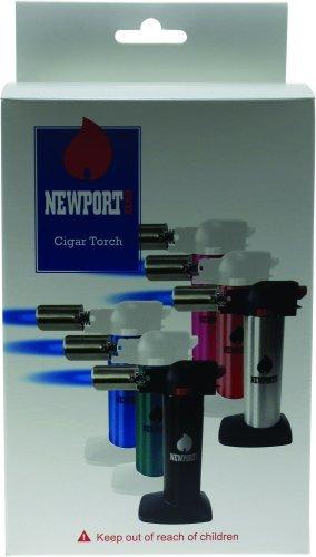 Newport Zero 6'' Butane Torch - Blue