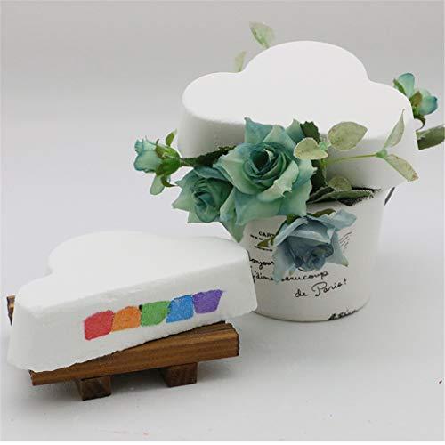 - Iulove_Bathroom Products Bath Salt Rainbow Soap Ball Handmade Skin-Care Bath Bomb Bubble Massage