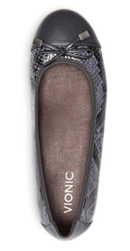 VIONIC Pelle nbsp;Minna Snake Grey Womens Shoes 359 HrqOwH