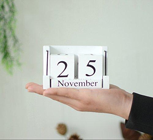 Retro Calendar Wall Clock - 5
