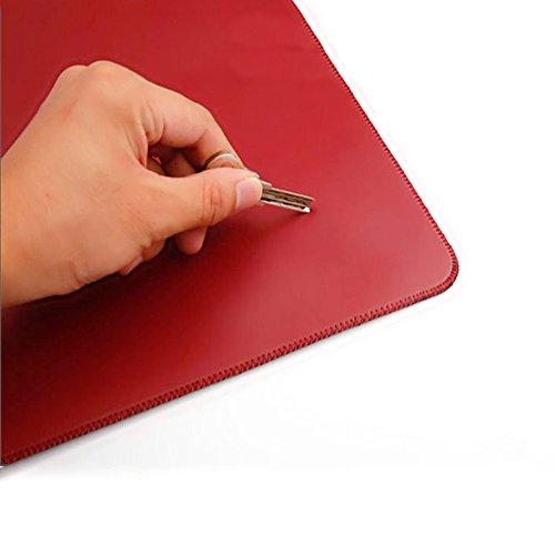 Finoki Computer Tasche Hülle für MacBook Pro 12-15,4 Zoll MacBook Air Notebook Wasserdicht Laptoptasche Notebooktasche mit Schutzhülle Externes Mousepad (13,3 Zoll Hellbraun) 13,3 Zoll Rot