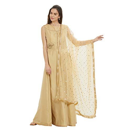 Best golden dupatta indian for 2020