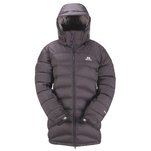 Mountain Equipment Lightline Long Down Jacket - Women's Shadow Grey, US XL/UK 16