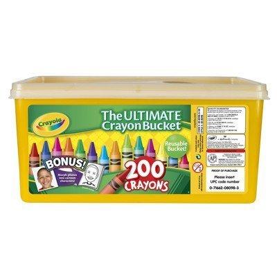 Crayola Ultimate Crayon Bucket 200 Crayons]()