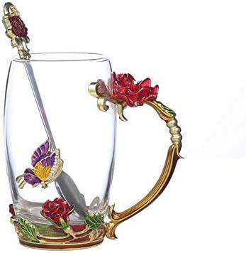 Handicraft Crystal Flower Coffee Drinks product image