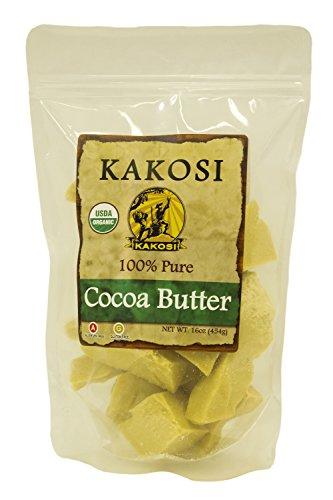 KAKOSI Organic Cocoa Butter 16 oz.