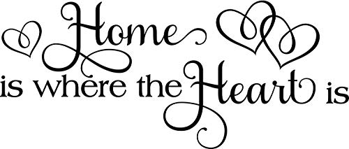 Home is Where the Heart is Vinyl Decal Sticker (Annual Pass Sticker Disney)