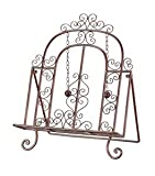 Sterling Home Cook's Book Stand, Metal, 17-1/4-Inch Tall