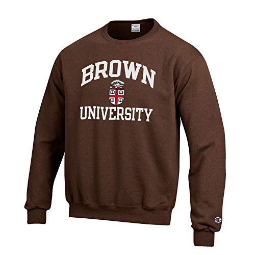 Elite Fan Shop Brown University Bears Crewneck Sweatshirt - L