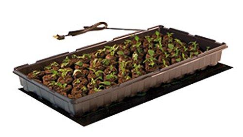 17W Seedling Heat Mat + Hydrofarm MTPRTC Temp Controller & JSV2 Lighting System