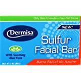 Dermisa Soap Sulfur Facial 90 gm (Case of 6)
