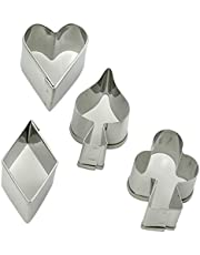 Städd skörd form, rostfritt stål, silver