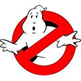 SMALL GHOSTBUSTERS … … IRON ON EMBROIDERED EMBROIDERY PATCH PATCHES SIZE … 2.0 X 1.75 INCHES … HALLOWEEN COSTUME