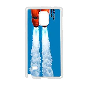 With Big Hero For Galaxy Note 4 Samsung Smart Design Phone Case For Man Choose Design 3
