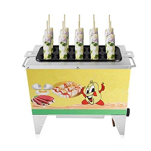 10 Holes LPG Automatic Breakfast Machine 100 pcs/1 hour Egg Sausage Machine Grilled Egg Rolling Machine Egg Cup Machine