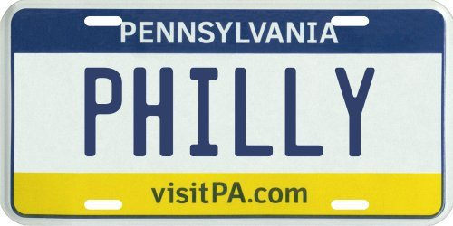 VINTAGE-PLATES Philly Philadelphia Pennsylvania PA, used for sale  Delivered anywhere in USA