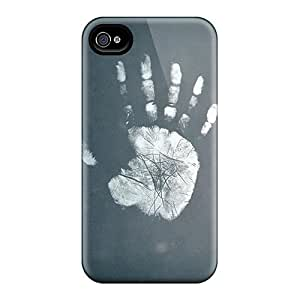 Durable The Hand Abstract Back Case/cover For Iphone 4/4s