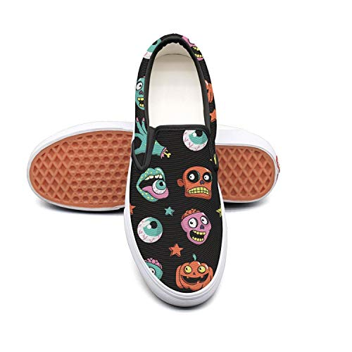 Sernfinjdr Women's Women's Sernfinjdr Weirdo Halloween Art pop Fashion Casual Canvas Slip on Shoes Sports Running Sneaker Shoes B07H5JKL82 Shoes 3ed7f0