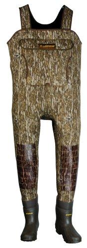 - LaCrosse Men's Super-Tuff Mossy Oak Bottom Land 1000G Wader Boots, 11-Stout