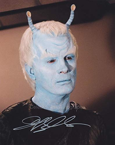 JEFFREY COMBS as Commander Shran - Star Trek: Enterprise GENUINE AUTOGRAPH