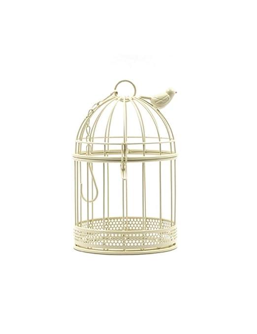 Jaula de pájaros decorativa, decoración de pájaros de balcón de ...