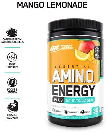 Energy & Endurance: Optimum Nutrition Amino Energy + Uc-Ii Collagen