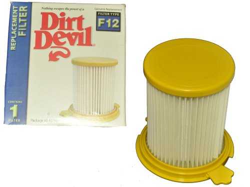 - Dirt Devil F12 Filter