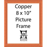 Handmade Copper Coloured Wooden Picture Frame - 8 x 10 by Behind The Glass