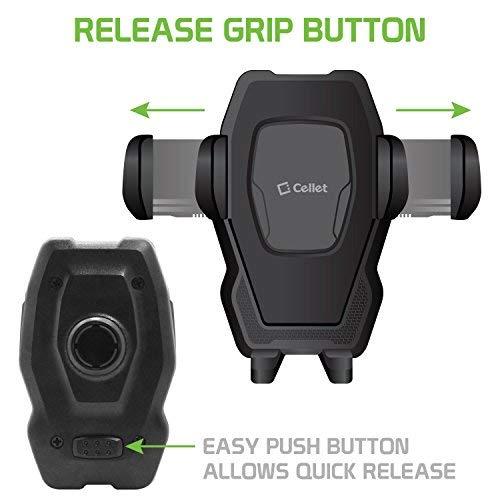 G7,Premier Pro 4351531727 Cellet CD Slot Phone Holder Cradle Mount with One-Touch Design Compatible for LG V40 ThinQ,K30,Q7+,Stylo 4 Plus,Stylo 4//3//2//1,Phoenix Plus//Harmony 2//Xpression Plus,Q Stylus,V35 ThinQ