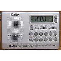 Kaito KA105 Portable radio