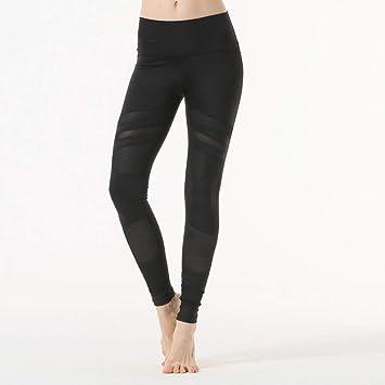 GSYJK Imprimir Malla Patchwork Mujeres Pantalones De Yoga ...