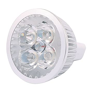 DealMux DC 12V 4W MR16 4 LED ultra brillante COB bulbo del ...