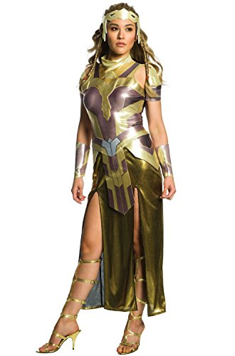Rubie's Costume Co Women's Wonder Woman Movie Deluxe Hippolyta Costume, As Shown, Medium -