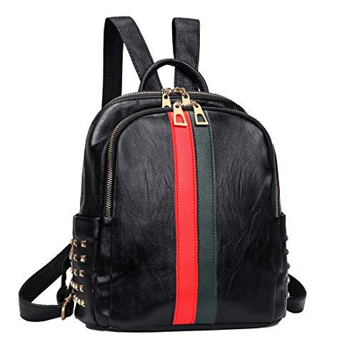 Mynos Backpack Bag Women Mini Rucksack Travel Daypack Backpack Leather Bag Ladies Purse And Handbags (Handbags Backpack Ladies)