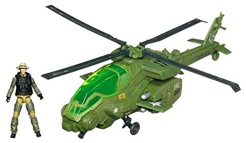 Joe Rise of Cobra Dragonhawk XH1 Helicopter with Wild Bill Action Figure Vehicle Set Hasbro 40857 CHAR-GIJO-MOVI-PLAS-DRAGONHAWK/_XH1/_WITH/_ G.I