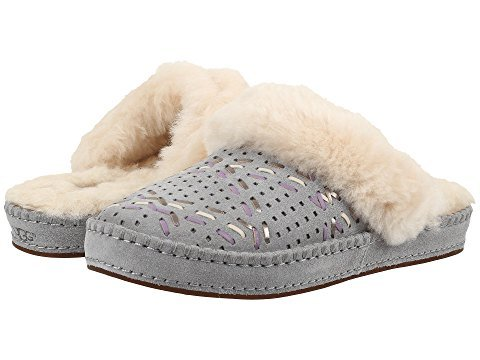 UGG Women's Aira Tehuano Pencil Lead Slipper (Sale Women Ugg)