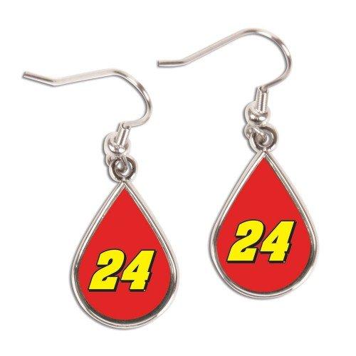 nascar-jeff-gordon-tear-drop-dangle-earrings